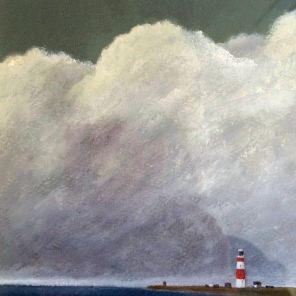Martin Leman RWS - Lighthouse, Orford Ness