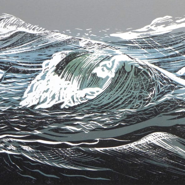 Merlyn Chesterman RE - A Winter Sea