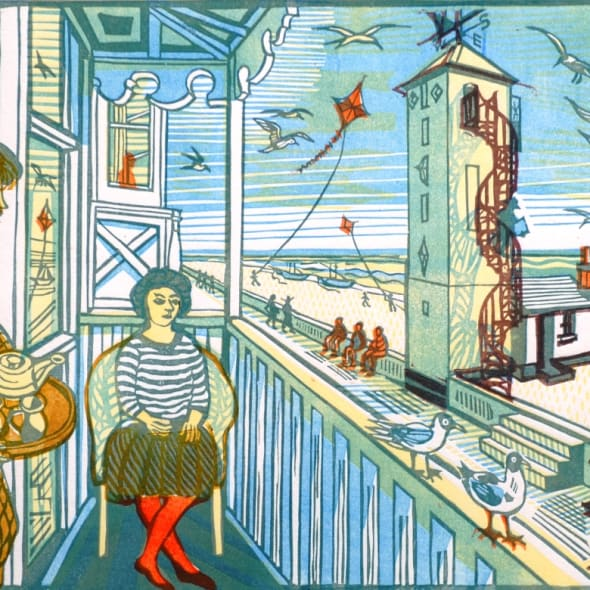 Richard Bawden RWS RE - Crag Path