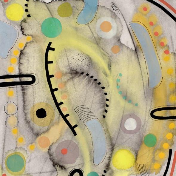 Chloe Fremantle ARWS - Memento Mori 24, grey to green, (84)2017