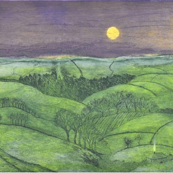 Hilary Adair RE  - Blue Remembered Hills