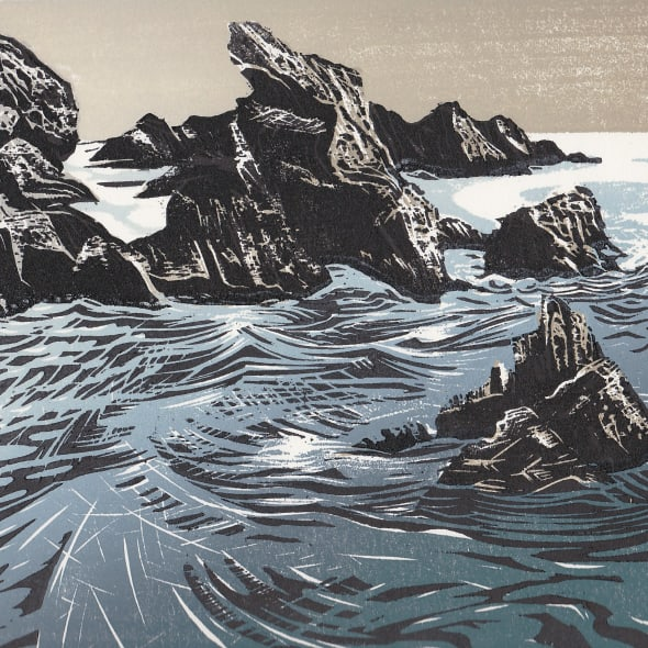 Merlyn Chesterman RE - A Winter Sea