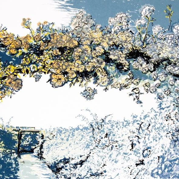Denise Ballard Wyllie ARE - The Long Garden