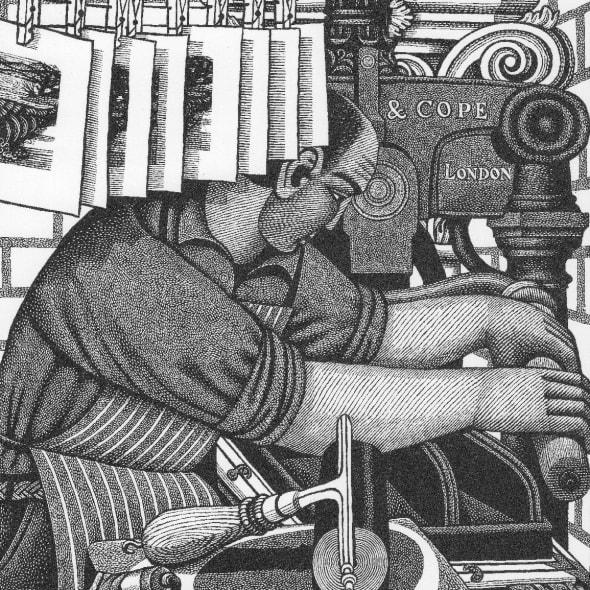 Harry Brockway RE - John Firing the Kiln