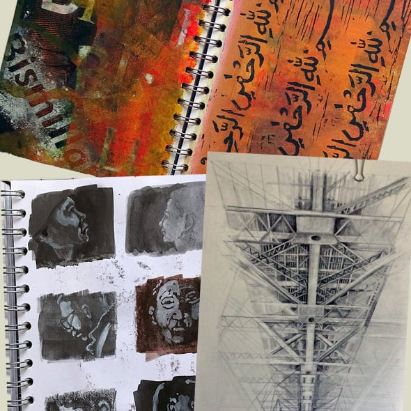 RE ORIGINAL PRINTS 2019: Talking about sketchbooks
