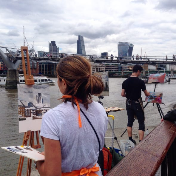 EVENT: River Thames Walk & Draw