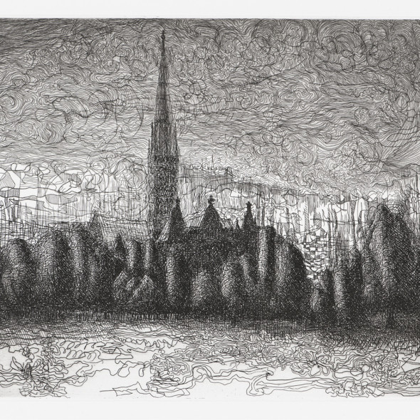 Paul Hawdon RE - Salisbury Cathedral