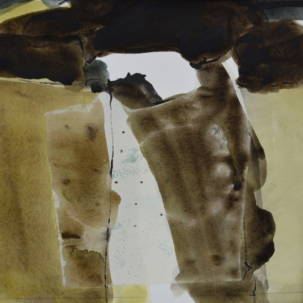 Jim Hunter ARWS - Purbeck Quarries 6
