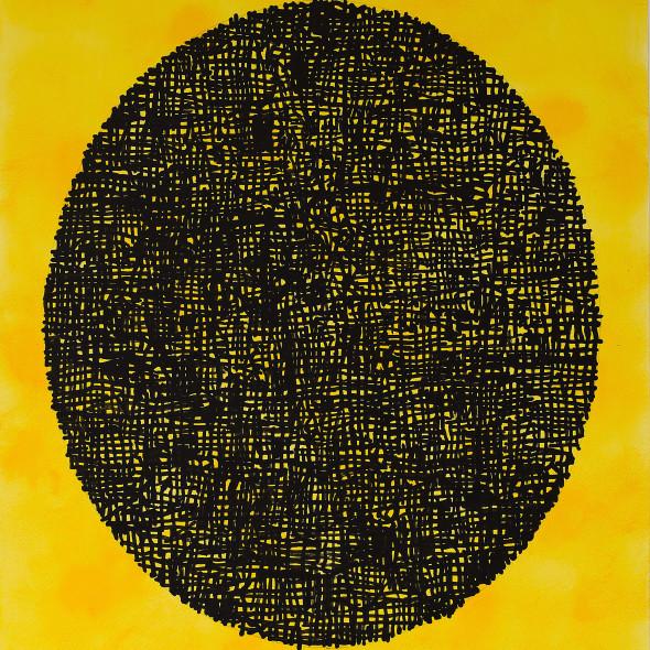 Bill Henderson RWS - Black on Yellow & Blink