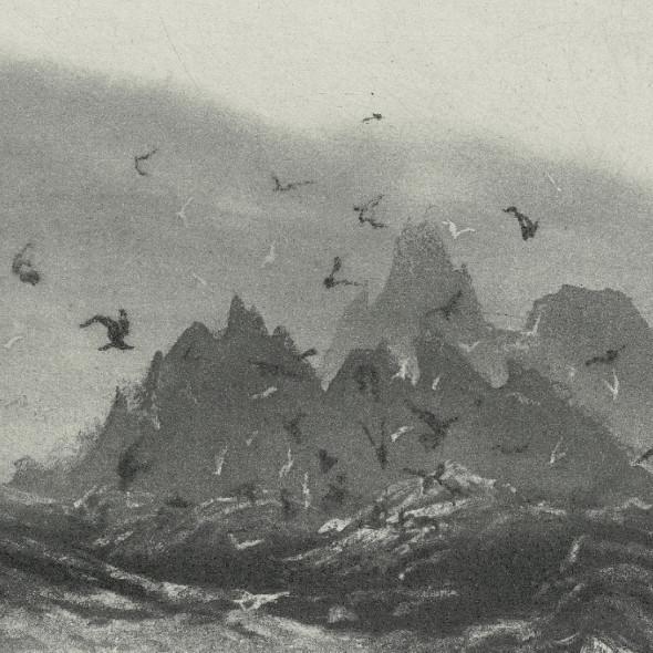 Norman Ackroyd RA RE - Skellig Rocks