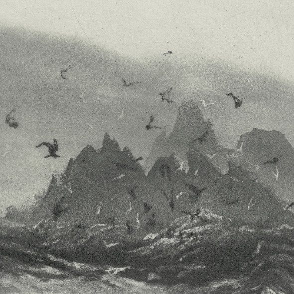 Norman Ackroyd RA RE - Skellig Revisited