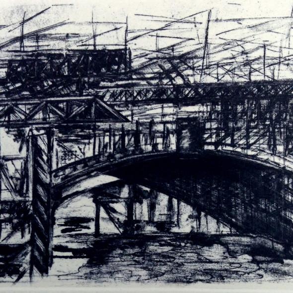 Jackie Newell RE - Blackfriars Bridge One Arch