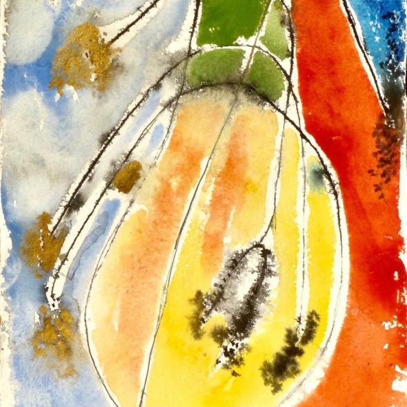 Anne Lynch ARWS - Trees Blowing Around