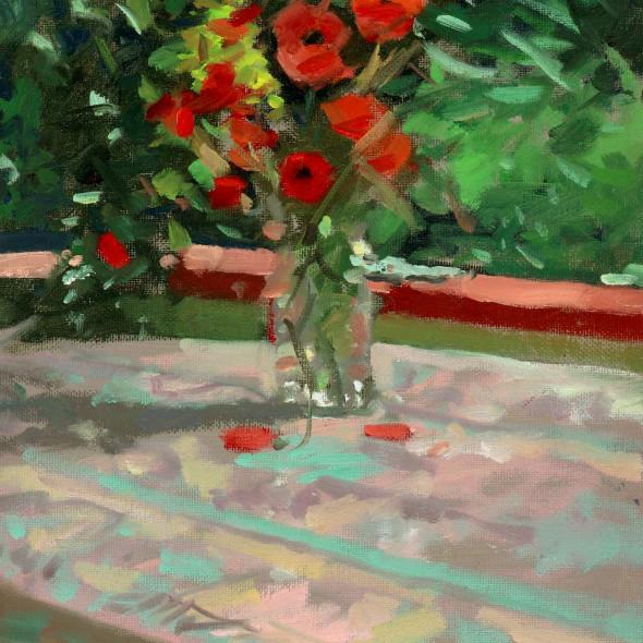 Ken Howard RA RWS - Wild Flowers