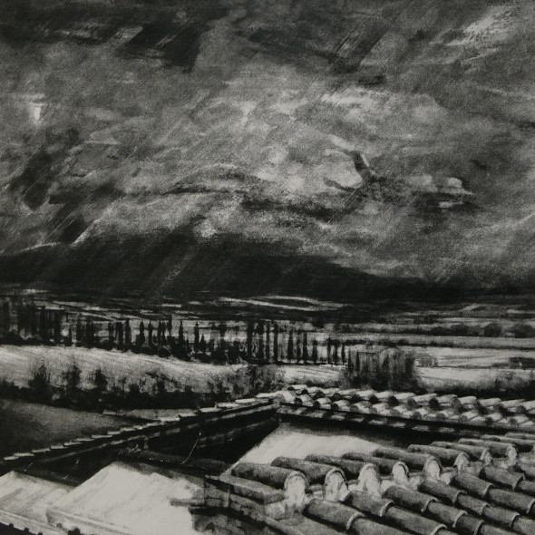 David Carpanini PPRE Hon. RWS - Approaching Storm, Bolsinina