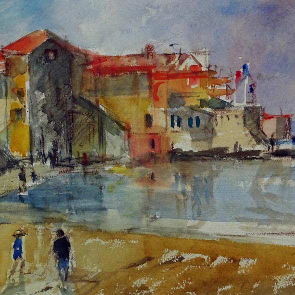 Jane Corsellis RWS - St Tropez