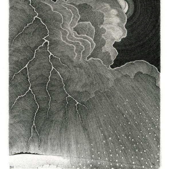 Brian Hanscomb RE - Storm over Bodmin Moor