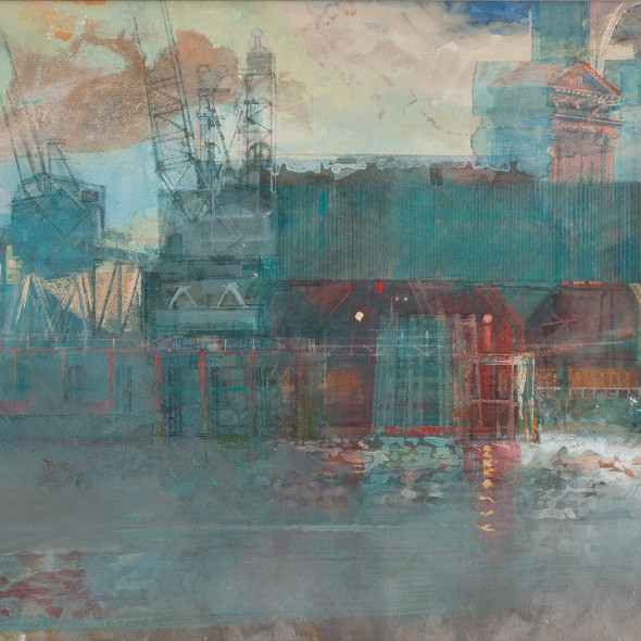 Paul Newland RWS - Thames Capriccio II