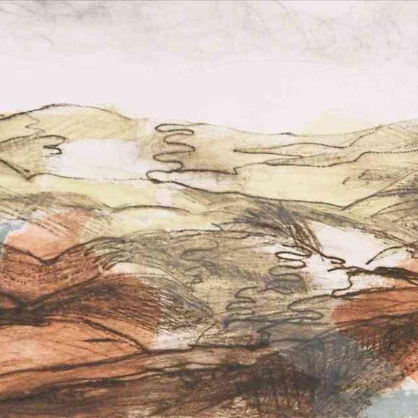 Daphne Casdagli RE - Highland Moorland