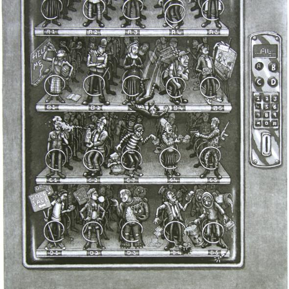 Martin Langford RE - Vending Machine