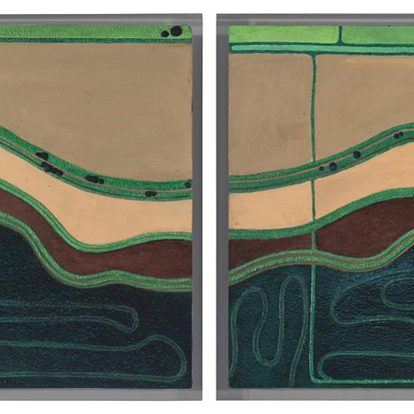 Diana Moore, Wet and Dry Fields Louisiana