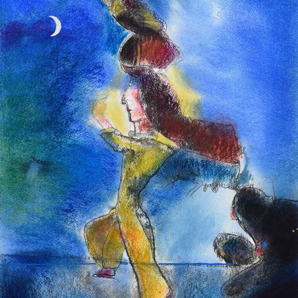 Rafa Fernandez, Ritual de la luna