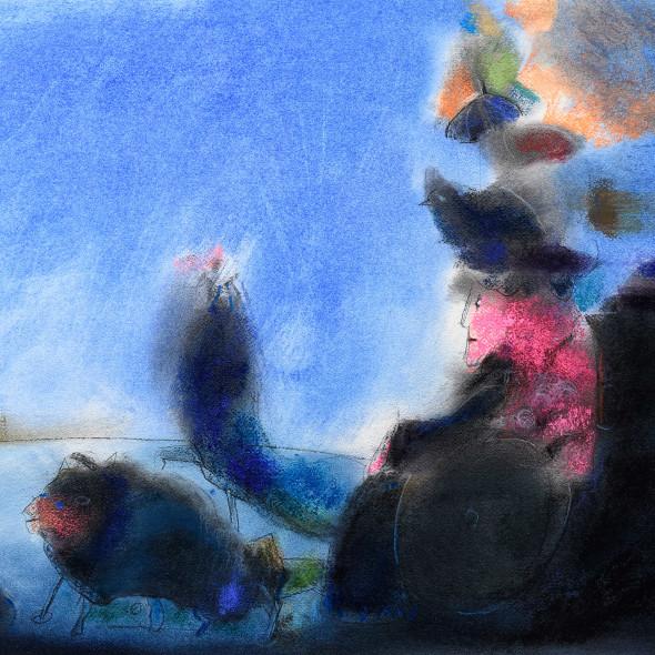 Rafa Fernandez, La sombrilla azul