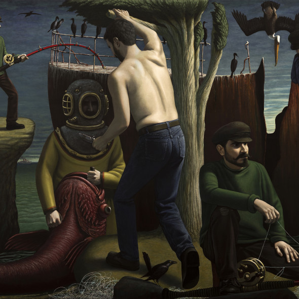 John Tarahteeff, Fishing the Wreck
