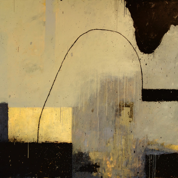 Kevin Tolman, Standing Stone at Night / the Four Directions