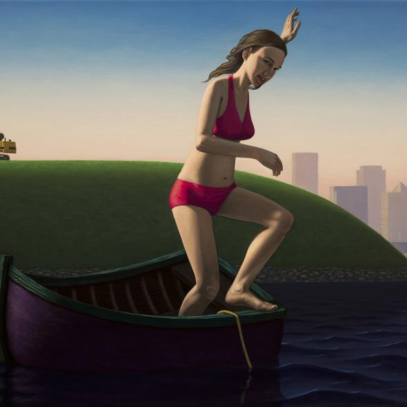 John Tarahteeff, Bather (Chasing the Anchor)