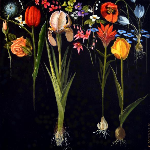 Carol Mothner, Botanical Mélange 1