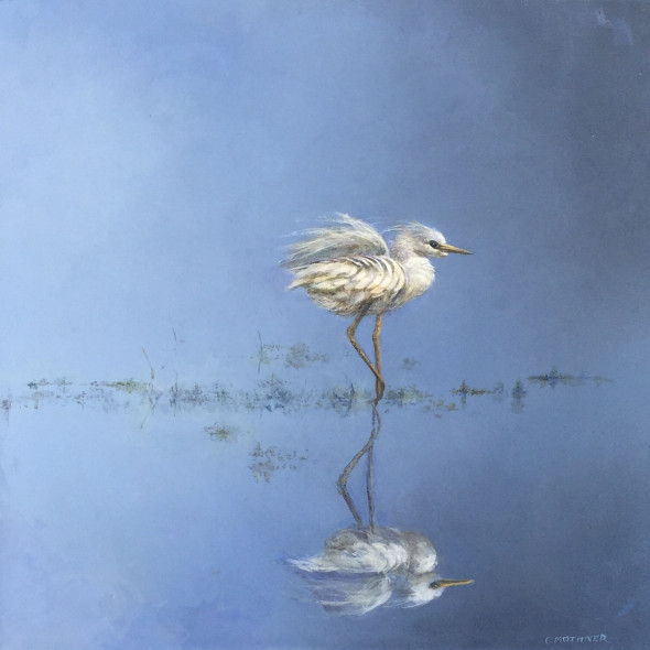 Carol Mothner, Reflections in Blue and White