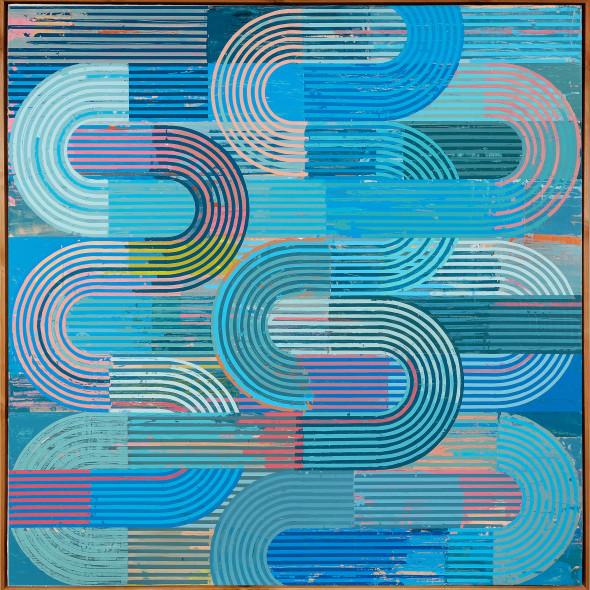 Sunny Taylor, Blue Technicolor Curves