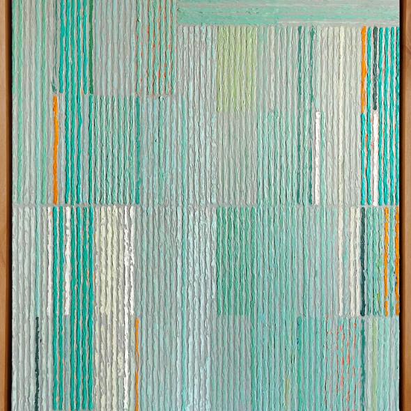 Sunny Taylor, Composition With Aqua Bars