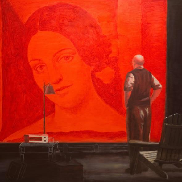 Alberto Galvez, Rothko en su studio un pelegrine clave