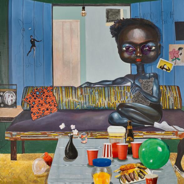 Ndidi Emefiele - Cuddle cat, 2018