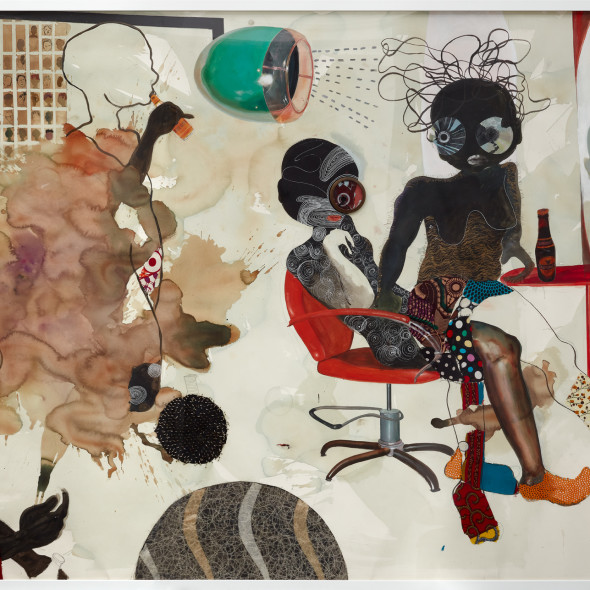 Ndidi Emefiele - Blow dry salon, 2018