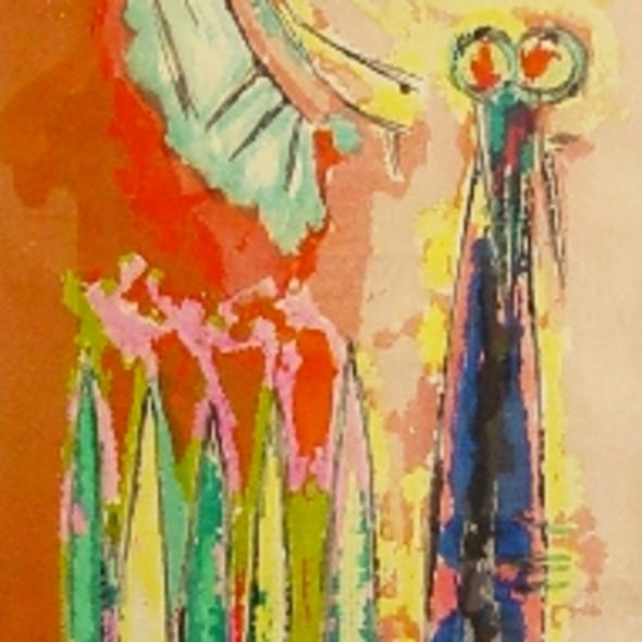 Stefan Knapp - The Sentinel, 1956