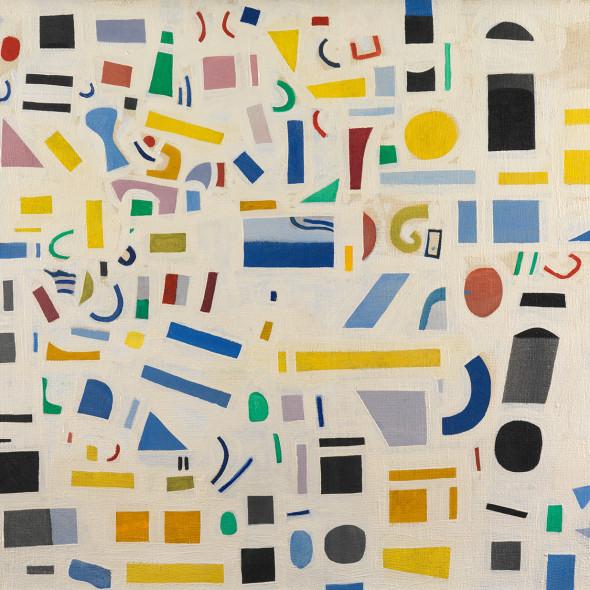 Caziel, WC535 - Composition, c. 1967