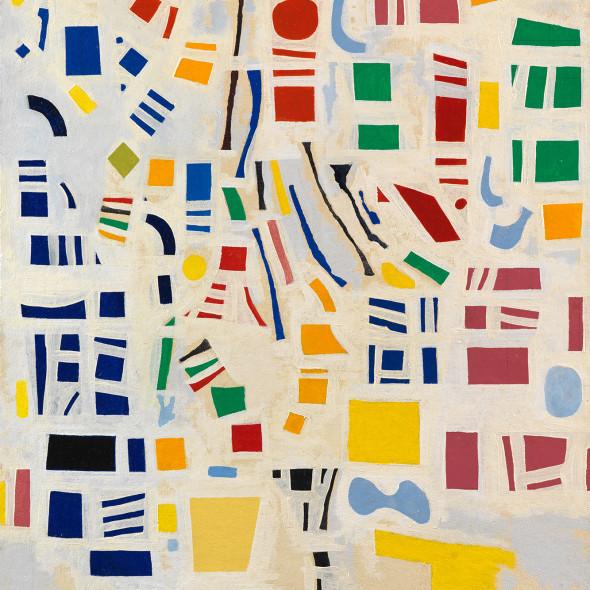 Caziel, WC781 - Composition 1967/6, 1967