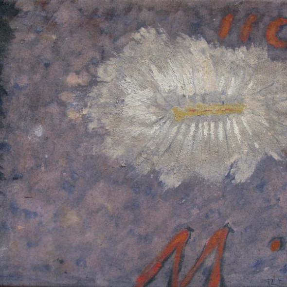Martin Bradley, White Flower, 1958