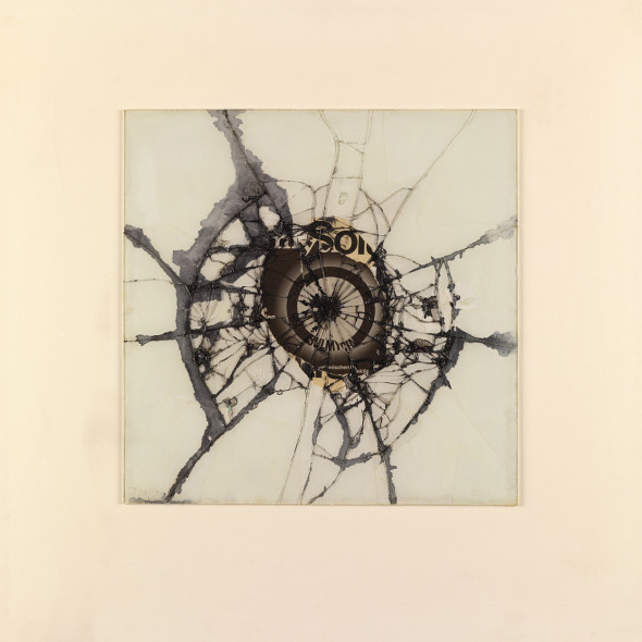 Reinhold Koehler, Figur 69, Contre-Collage, 1969