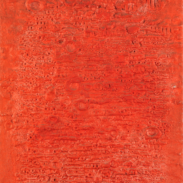 Reinhold Koehler, Sandbild ROT , 1958-1959