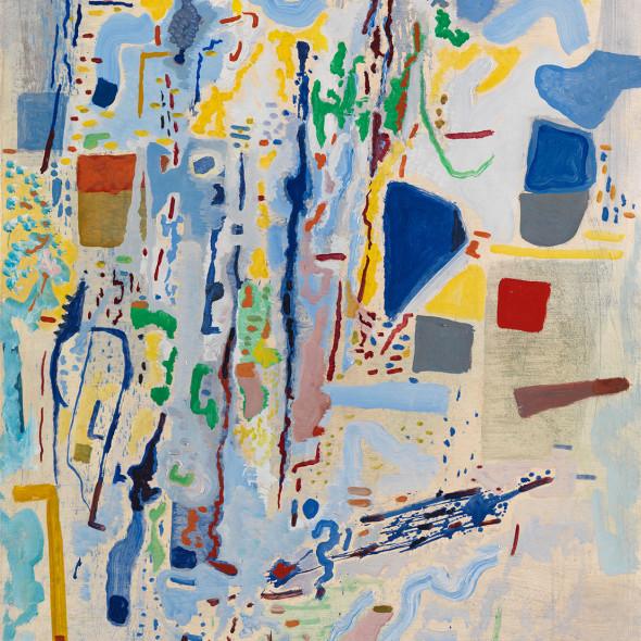Caziel, WC786 - Composition X/1965, 1965