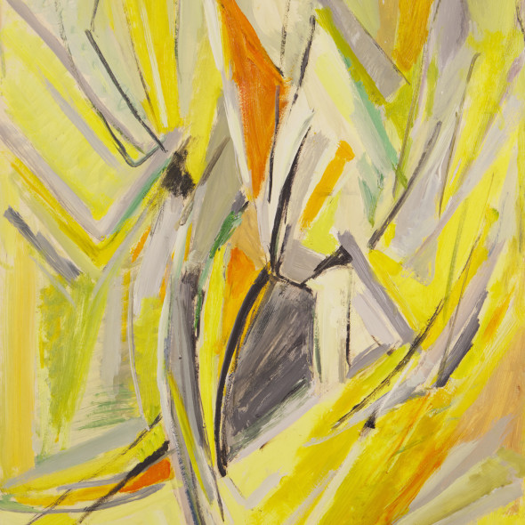 Mildred Bendall, Yellow Composition, c. 1963