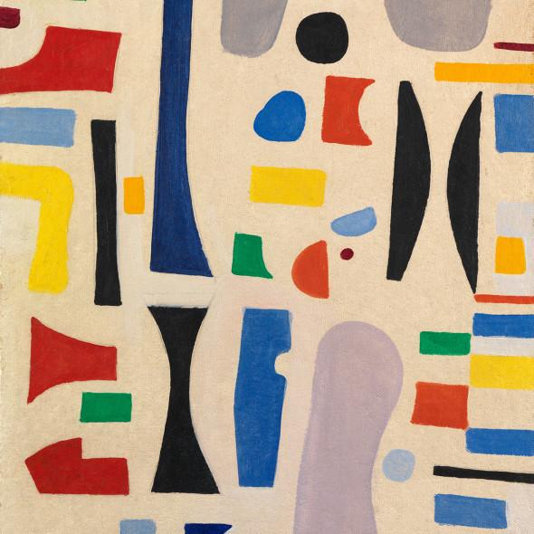 Caziel, WC779 - Composition 1967.V, 1967