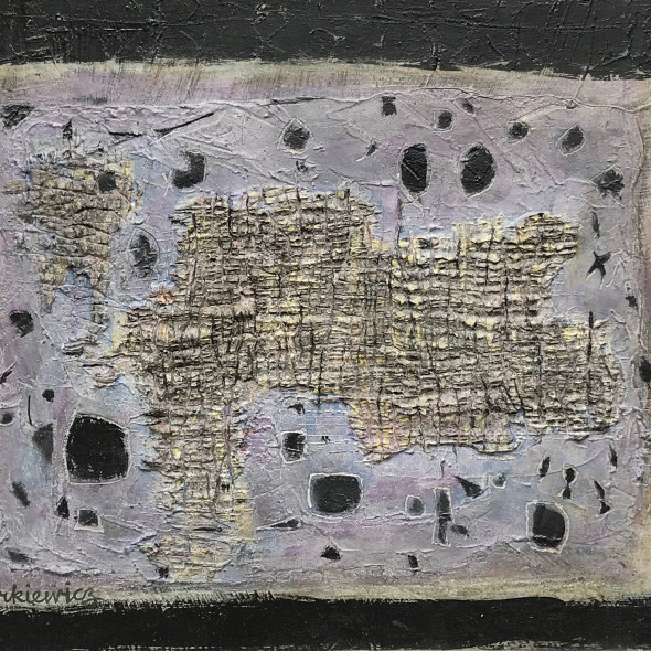 Zygmunt Turkiewicz, Abstract Composition, c.1958