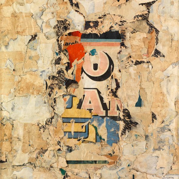 Reinhold Koehler, Plakat-Décollage, 1958
