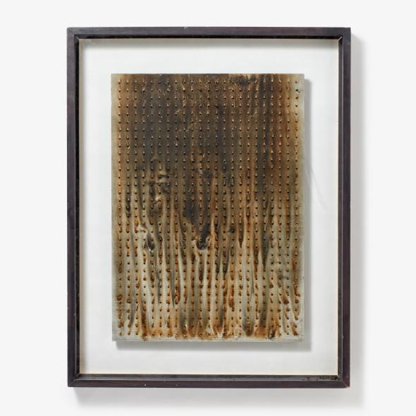 Bernard Aubertin - Untitled, 1974