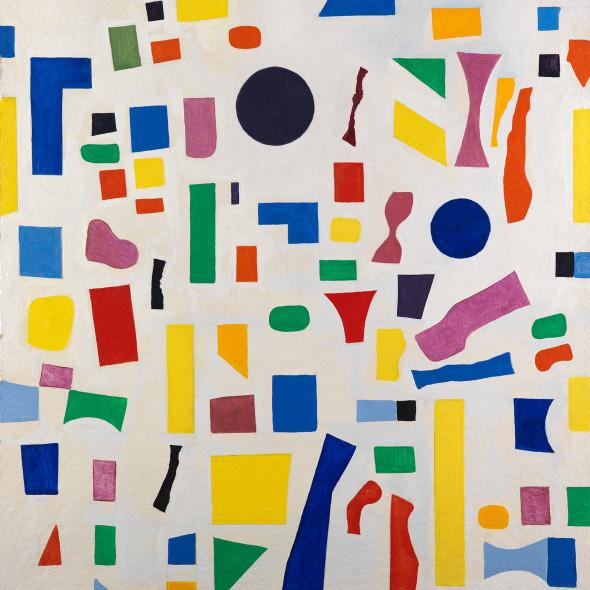 Caziel, WC783 - Composition 1967.16/6, 1967